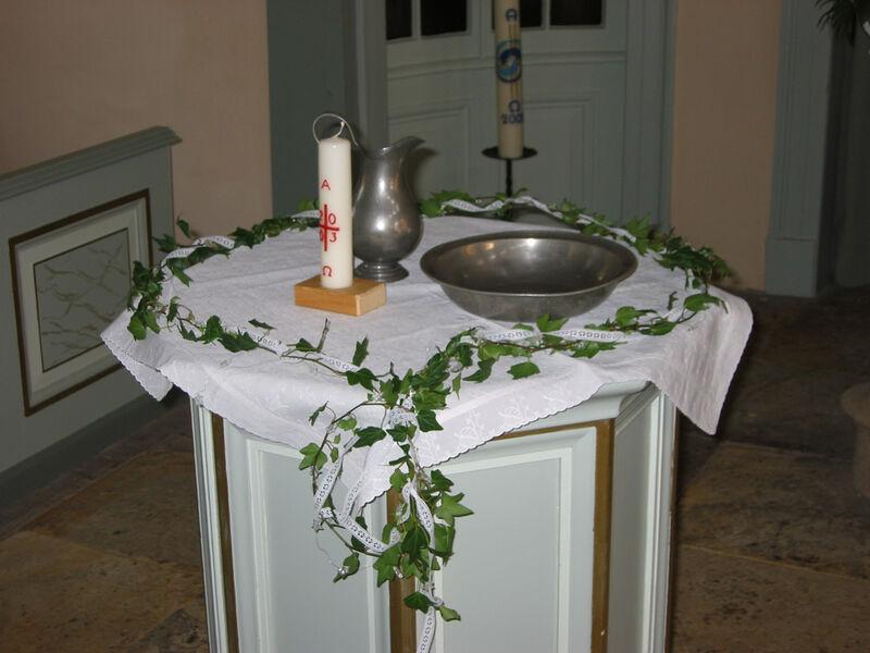 Kirchengemeinde Alt Garbsen Taufen